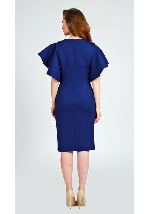 Royal Blue Dress  SW-5640